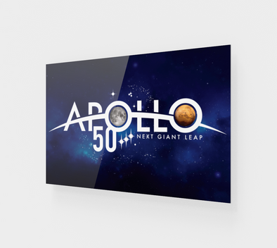 Apollo 50th Anniversary of Moon Landing Acrylic Print