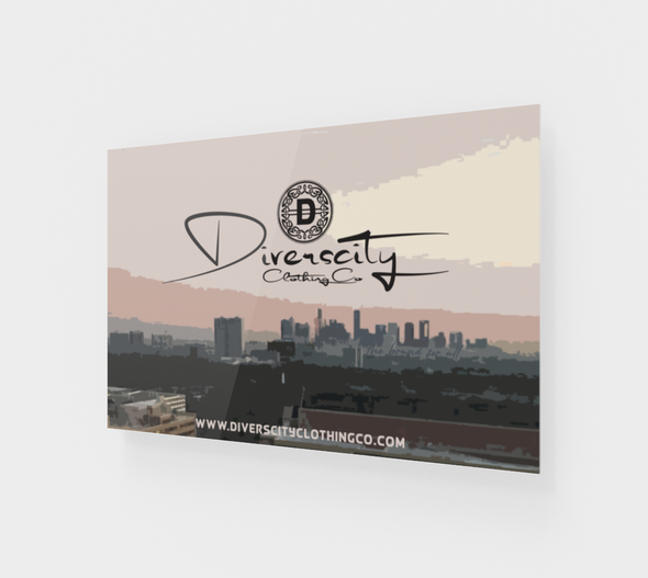 Diverscity Clothing Co .Acrylic Art Print