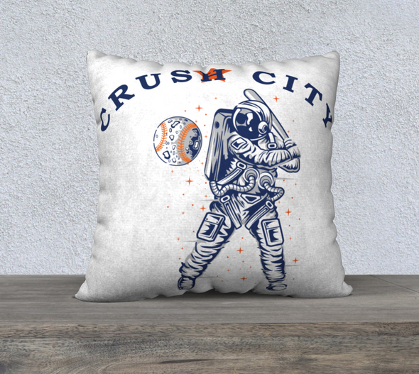 "Crush City Pillow Case 22"" x 22"""