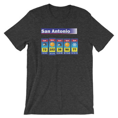 San Antonio Weather Tee