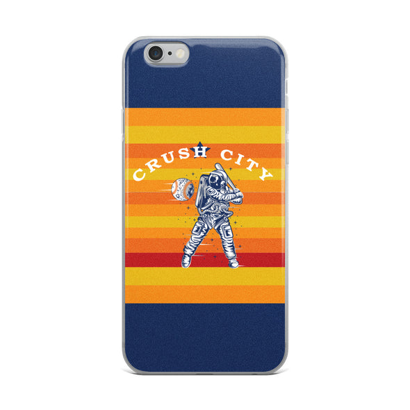 Crush City Astros iPhone Case