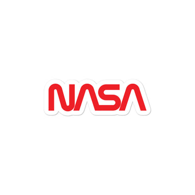NASA Worm Sticker