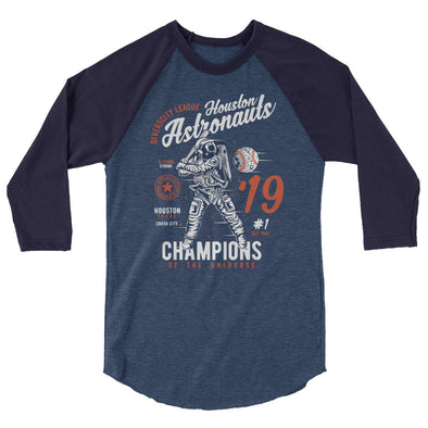 Champions of the Universe 3/4 Sleeve Raglan Shirt