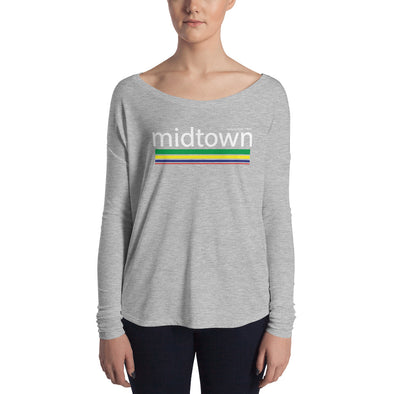 Midtown Houston Ladies' Long Sleeve Tee