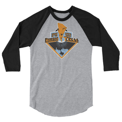 City of Energy 3/4 Sleeve Raglan Shirt