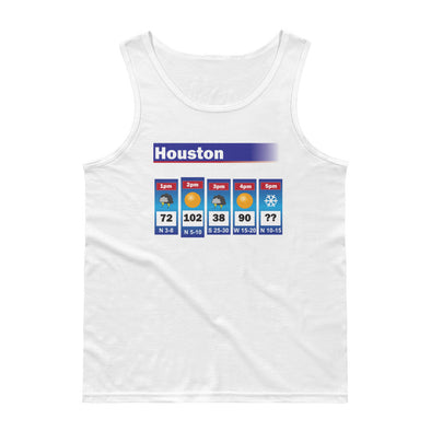 The Houston Weather Men's Lightweight Fashion Tank