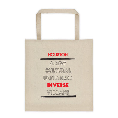 5 Facet's of Houston Tote bag