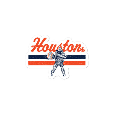 HTX Baseball Bubble-free stickers