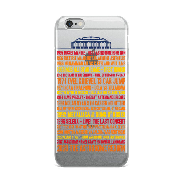 DOME History iPhone Case