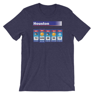 Houston Weather Unisex T-Shirt