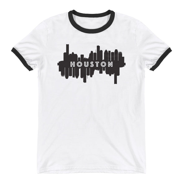 HTX City Views Ringer T-Shirt
