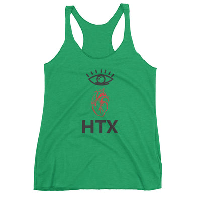 Eye Heart HTX Women's Racerback Tank