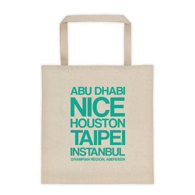 Sister Cities Tote bag