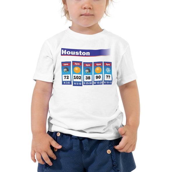 Houston Weather Toddler T-Shirt