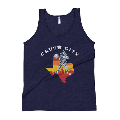 Crush City Texas Men's Tri-Blend Tank