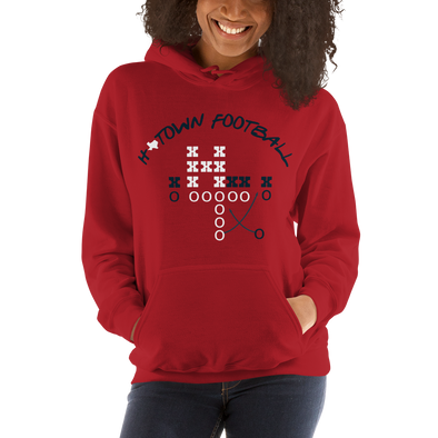 H-Town X's & O's Hooded Sweatshirt