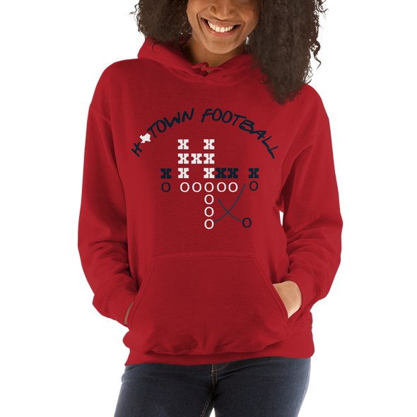 H-Town Football Hooded Sweatshirt
