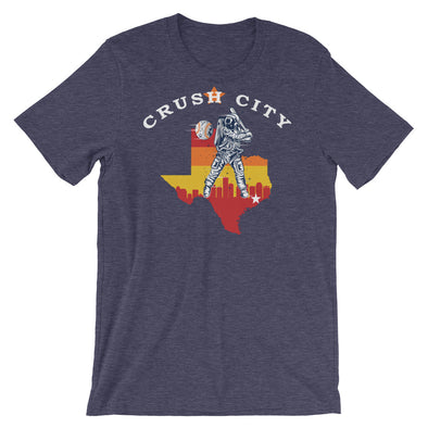 Crush City Astros Rainbow Unisex T-Shirt