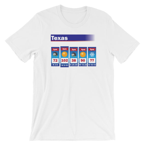 Texas Weather Unisex T-Shirt