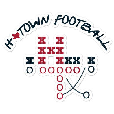 H-Town Football Sticker
