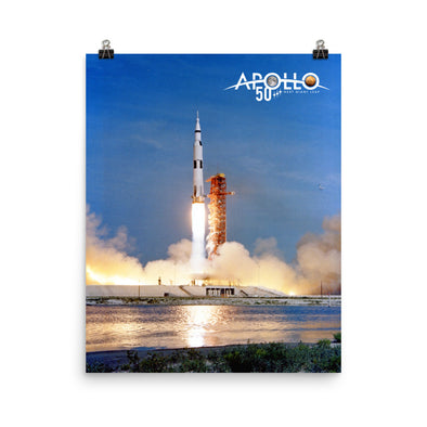 Apollo 11 50th Anniversary Poster