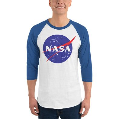 NASA 3/4 sleeve Raglan sShirt