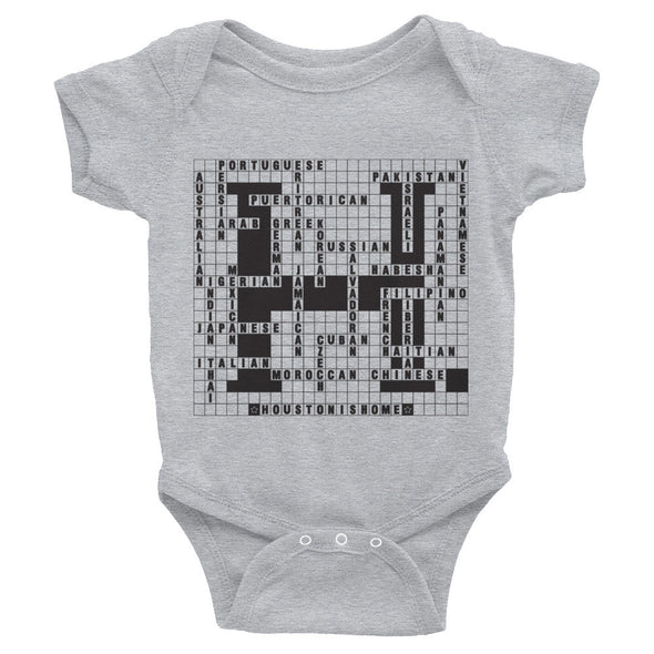 Diverscity of Houston Crossword Infant Bodysuit