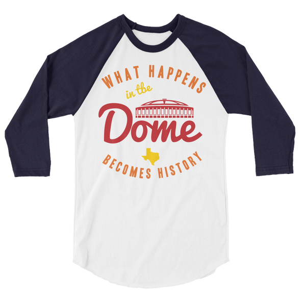 DOME History Raglan Shirt (front only)