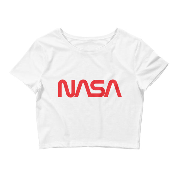 NASA Women's Crop Tee