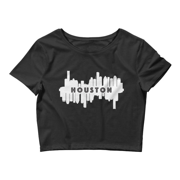 HTX City Views Women's Crop Tee