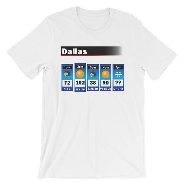 Dallas Weather Tee