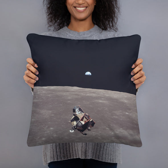 Apollo 11 Mission 44/V Pillow