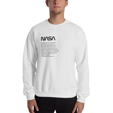 NASA JSC Sweatshirt (black)