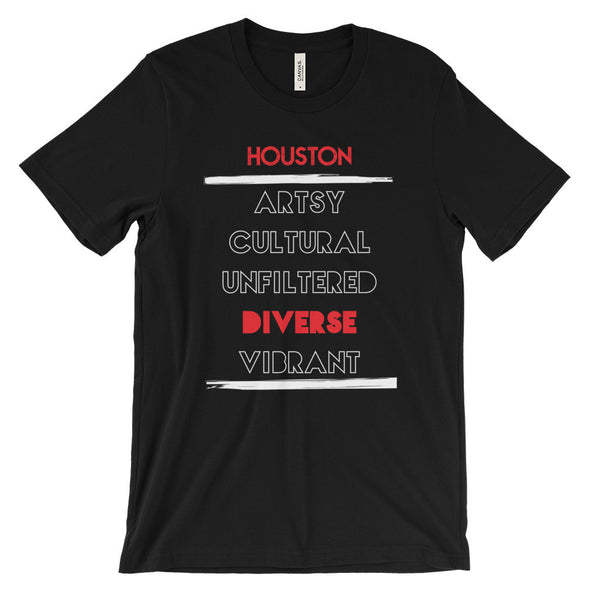 The 5 Facet's of Houston Tee