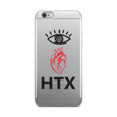 Eye Heart HTX iPhone Case