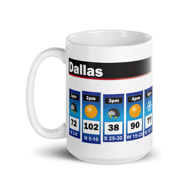 Dallas Weather Mug