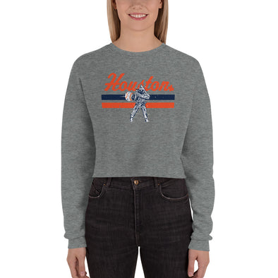 HTX Baseball Crop Sweatshirt