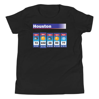 Houston Weather Youth T-Shirt