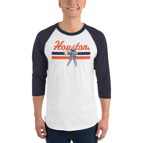 HTX Baseball 3/4 Sleeve Raglan Shirt