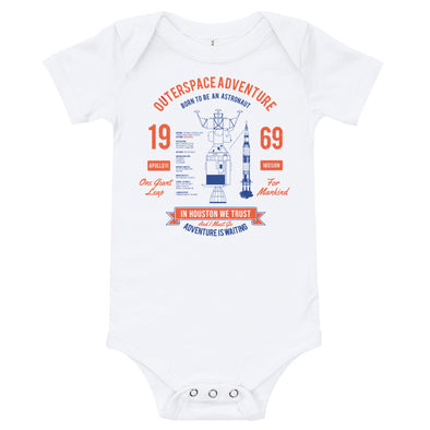 Apollo 11 Baby Onesie