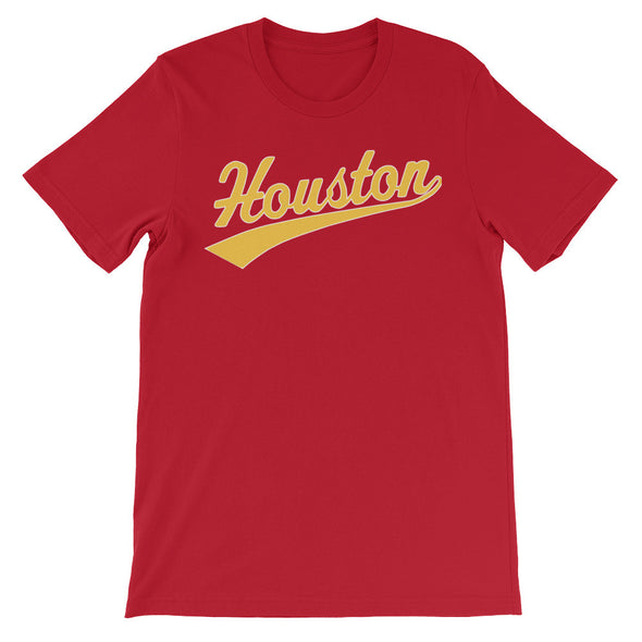 Forever Houston Classic Tee red/rocket gold