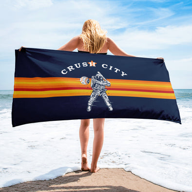 Crush City Astros Towel