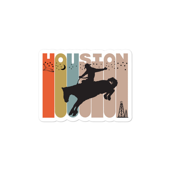Houston Cowboys Bubble-free stickers