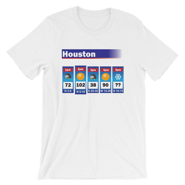 The Houston Weather Tee