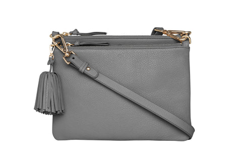 Double Take Crossbody - grey