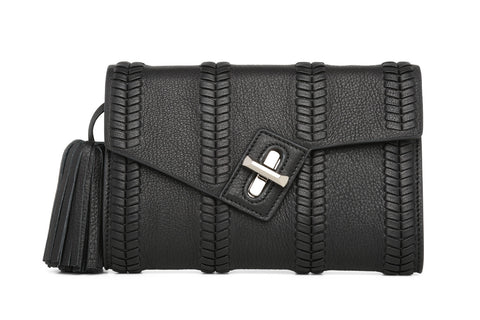 Mini MILCK Clutch - Braid - black