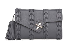 mini milck clutch - braid