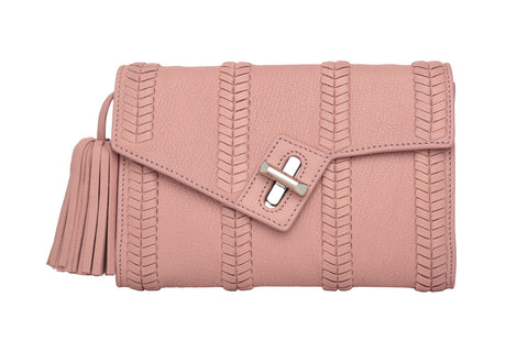 Mini MILCK Clutch - Braid - antique rose