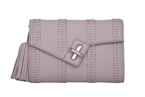Mini MILCK Clutch - Braid - lilac