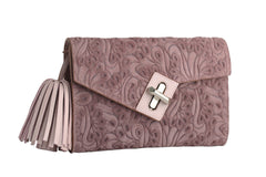 ela mini milck clutch - flower party in lotus